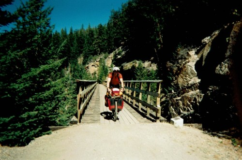 Doug Crossing #17 Trestle at Myra Canyon