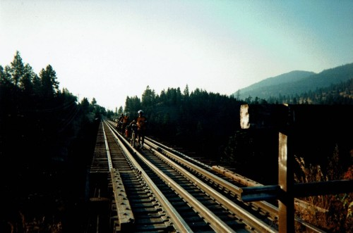 The Highest Bridge of the KVR at Trout Creek