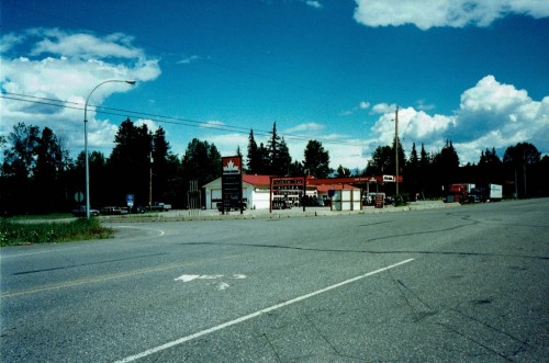 Junction of Cassiar (37) and Yellowhead (16) Highways