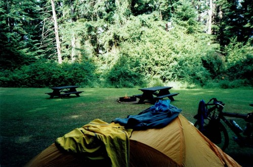 Campfire at Rathtrevor