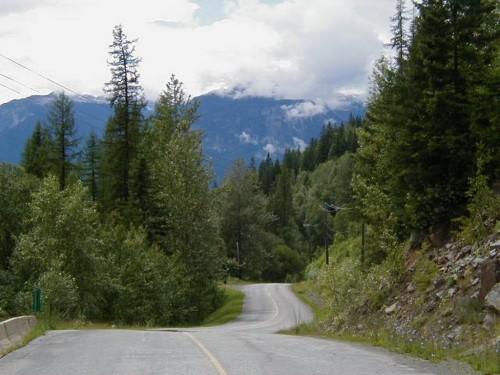 Climbing Monashee Pass