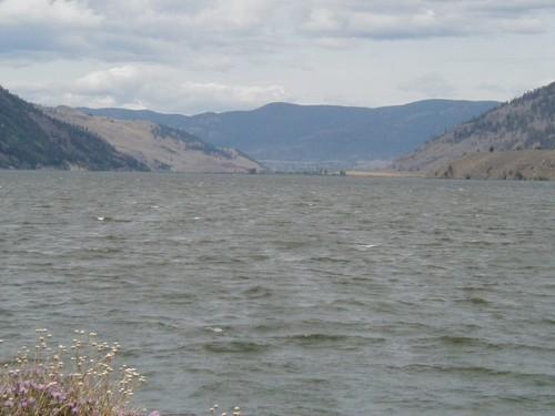 Whitecaps on Nicola Lake