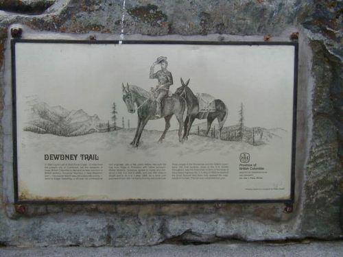 Dewdney Trail Marker