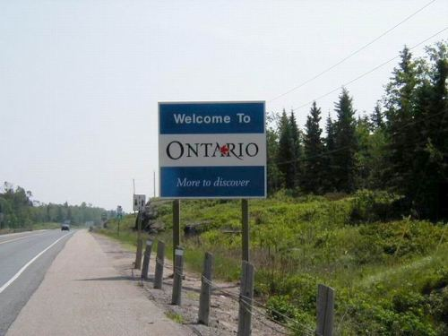 Welcome to Ontario!