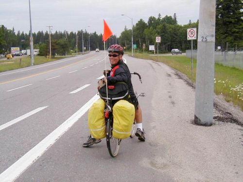 Recumbent Rider - Randal