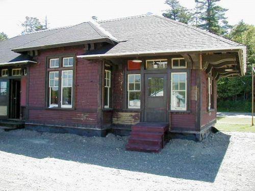 Heritage Train Station Undergoing Restoration