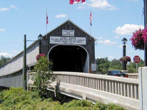 World's Longest Covered Bridge, Hartland, NB