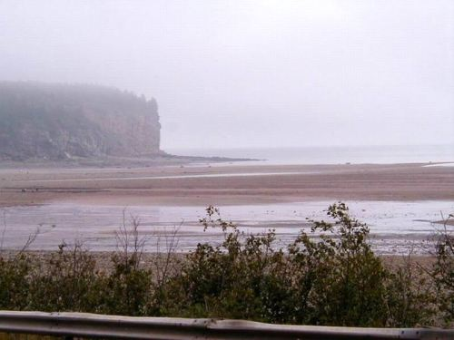 First view of the Atlantic Fundy Coast