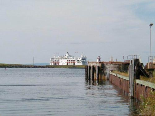 Small Ferry to Nova Scotia