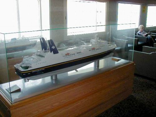 Model of the Joseph and Clara Smallwood Ferry