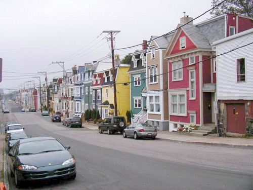 Colourful Houses of St John's