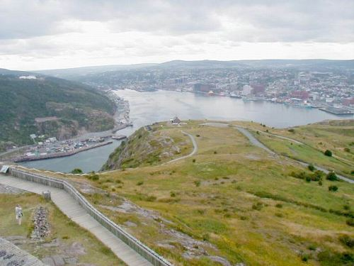 St. John's Harbour from Signal Hill