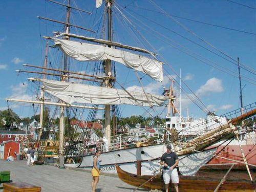 Seagoing Tall Ship