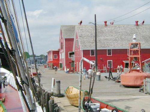 Dockfront Museum Buildings