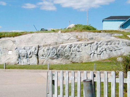 Granite Sculptured Mural