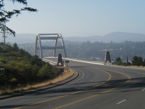 Bridge into Waldport