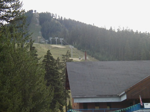 Ski Lift at Willamette Pass Summit