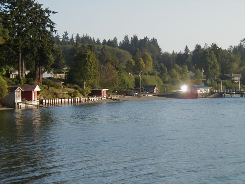 View from Kitsap Memorial Park's Beach
