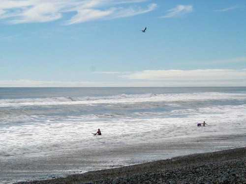 Tasman Sea at Greymouth