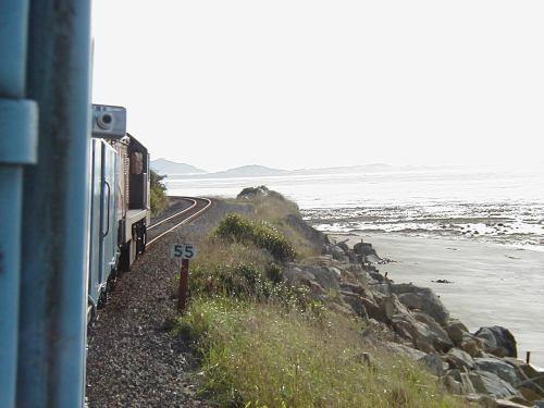 View of the Kaikoura Coast