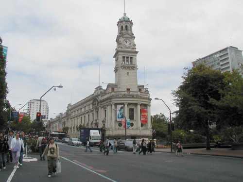 Auckland's Civic Centre