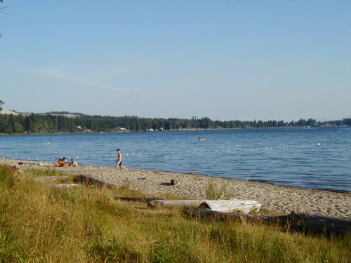 Quiet Beach at Porpoise Bay PP, Sechelt, BC