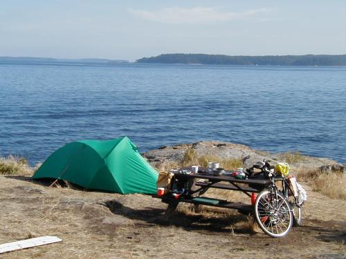 Perfect Campsite at Ruckle PP