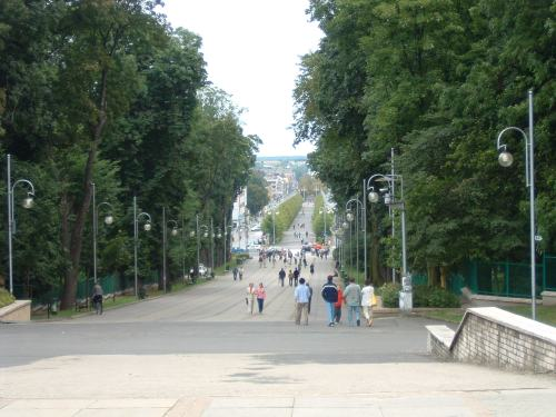 The Walkway to Jasna Góra