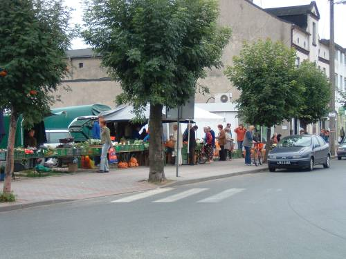 Roadside Market in Szadek