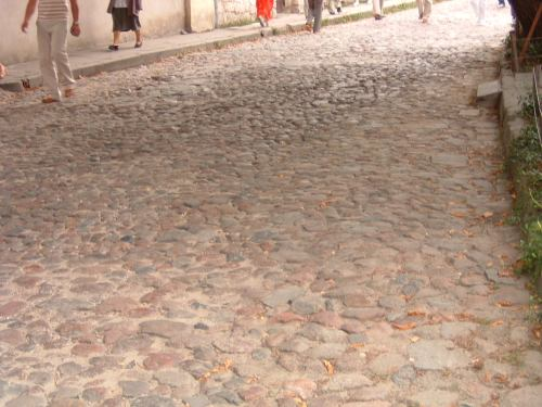 Really Rough Cobblestones!