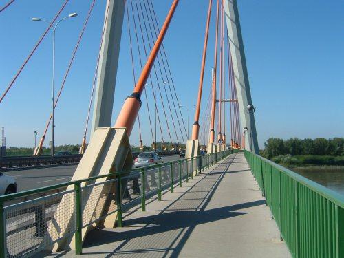 Nice Separated Bike Path on this Bridge