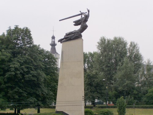 Monument in Warsaw