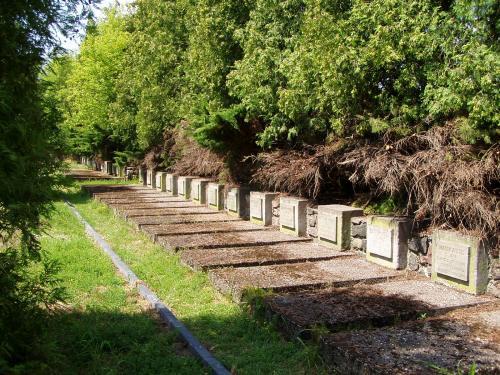 War Graves at the Memorial