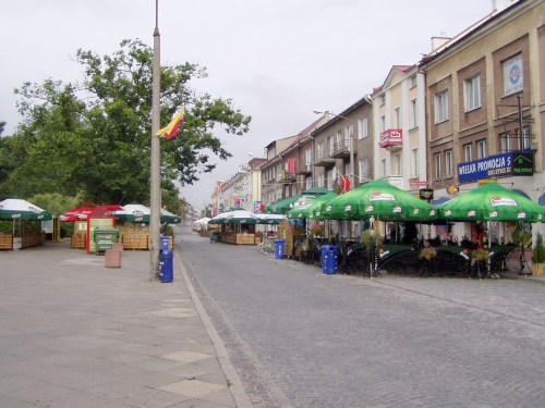 Downtown Bialystok