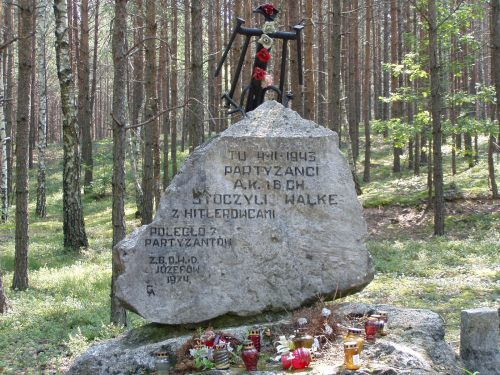 Memorial to the Partisans of WWII