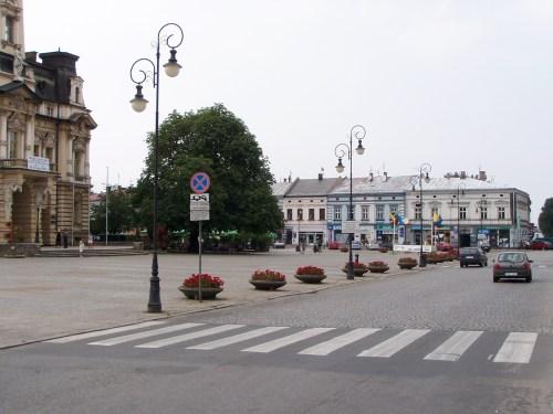 The Rynek at Nowy Sącz