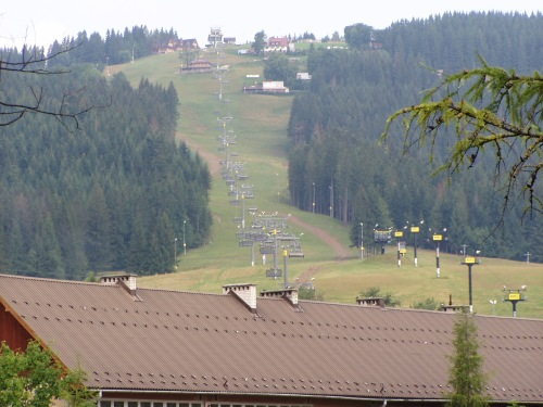 Chairlift in Zakopane