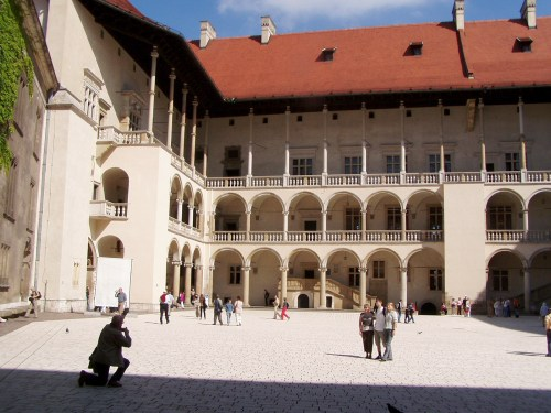 Cathedral Square of Wawel Castle