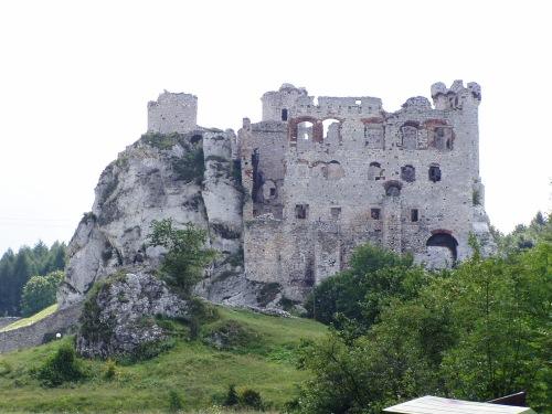 The Castle Ruin at Podzamcze