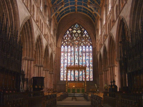 Carlisle Cathedral Interior