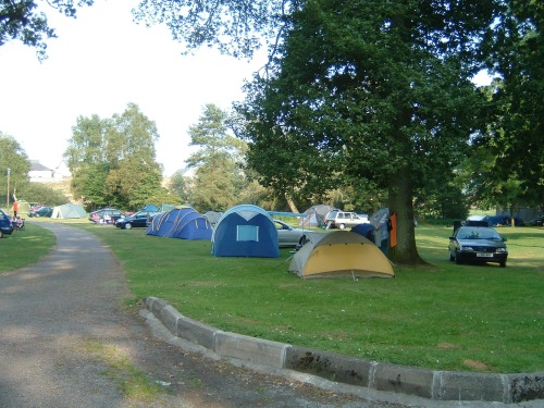 Typical UK Campground