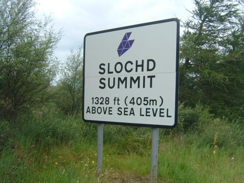 Slochd Summit