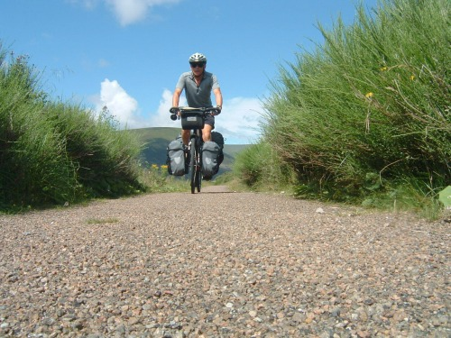Cycle Path Self Portrait!
