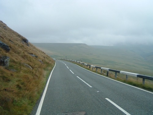Lots of Hills and Mist over the Moors