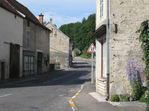 Narrow Village Streets