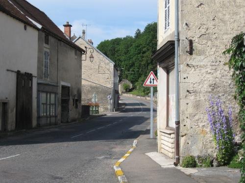 Narrow Village Streets