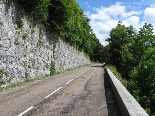 Narrow and Steep Roads