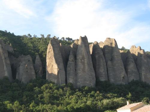 Strange Rock Outcrop