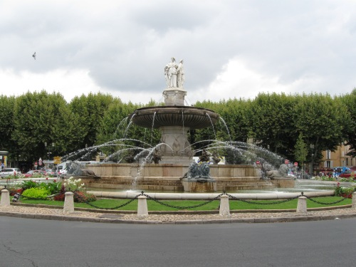 Well Preserved Fountain