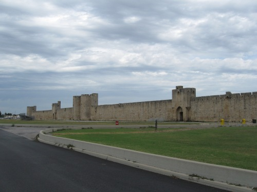 The Walls Around The Town of Aigues-Mortes